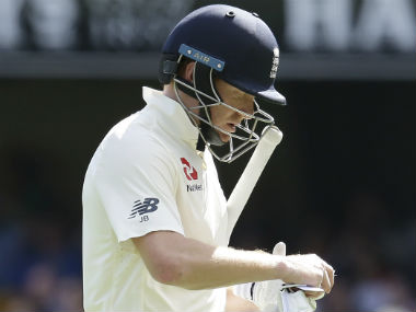 Jonny Bairstow scored 42 as England were dismissed for 195, leaving Australia 170 runs to win the Gabba Test. AP