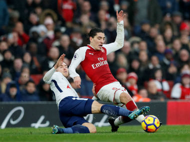 Premier League: Arsenal 'shut some mouths' by beating London rivals Tottenham Hotspur, claims Hector Bellerin
