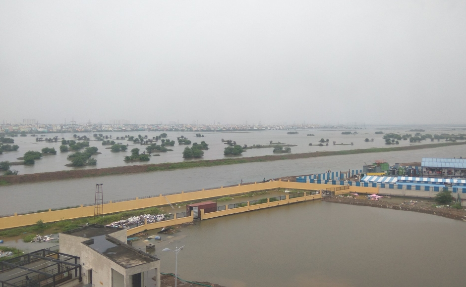 Heavy rains lash Chennai leaving large parts of city submerged and everyday life severely impacted
