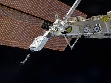 The Small Satellite Orbital Deployer (SSOD) deploys a set of NanoRacks CubeSats. Image: Reuters