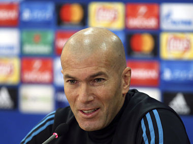 Champions League: Real Madrid manager Zinedine Zidane 'optimistic' about turning club's form around