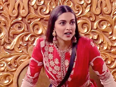 Bigg Boss 11, Weekend Ka Vaar, 19 November 2017: Deepika Padukone enters the house; Benafsha evicted