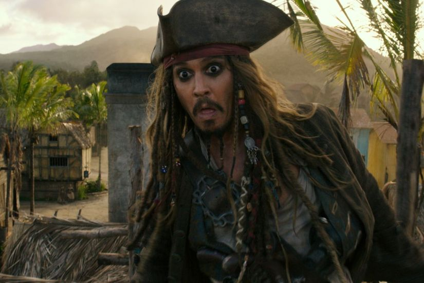 A still from Pirates of the Caribbean: Dead Men Tell No Tales. Disney