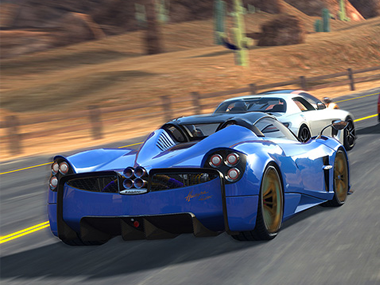 Gear.Club Unlimited is the first, realistic racing game on the Switch. Image: Nintendo Store