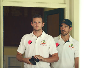 Ashes 2017-18: Mitchell Starc says 'genius' Josh Hazlewood allows Pat Cummins and himself to blast teams out