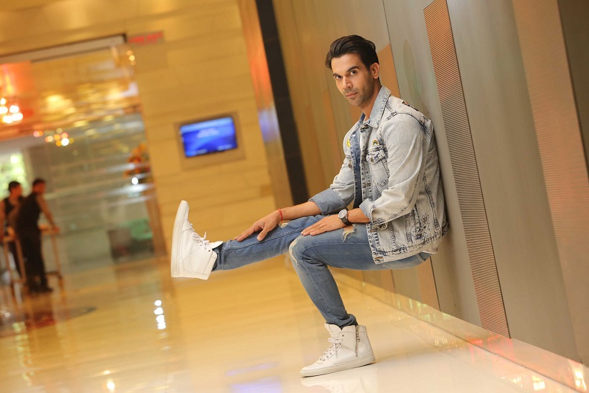 Rajkummar Rao poses during an interview with Hindustan Times in Delhi. Photo by Manoj Verma/Hindustan Times via Getty Images