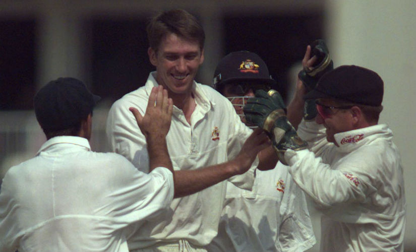 Glenn McGrath finished as the highest wicket-taker in the 1997 Ashes with 36 wickets. Reuters