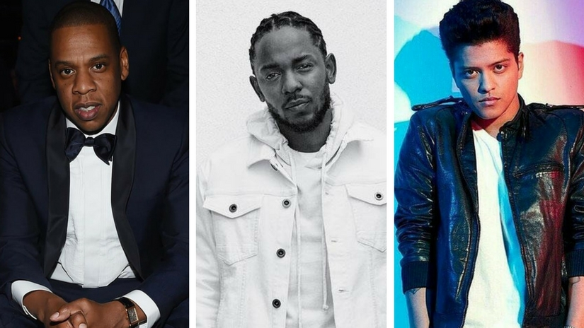 Grammy Awards 2018 nominations JayZ leads with 8 nods Kendrick Lamar Bruno Mars follow