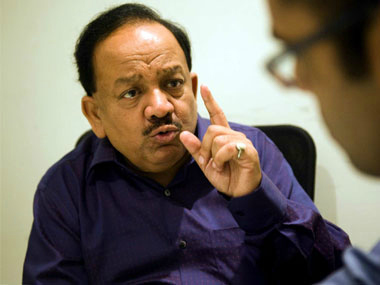 Day after blaze at AIIMS Harsh Vardhan reviews firefighting arrangements directs hospital to conduct safety audit