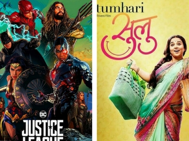 Justice League, Tumhari Sulu, An Insignificant Man, Aksar 2: Know Your Releases