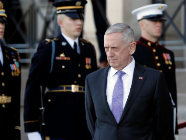 US defence secretary Jim Mattis says no need to stepup military operations against Iran