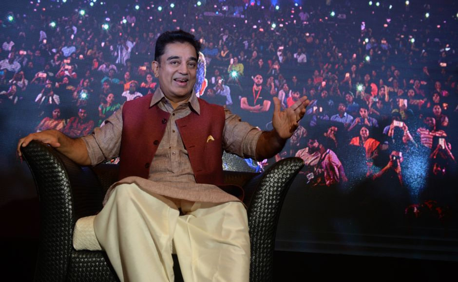 Kamal Haasan launches mobile app for whistle-blowers on 63rd birthday