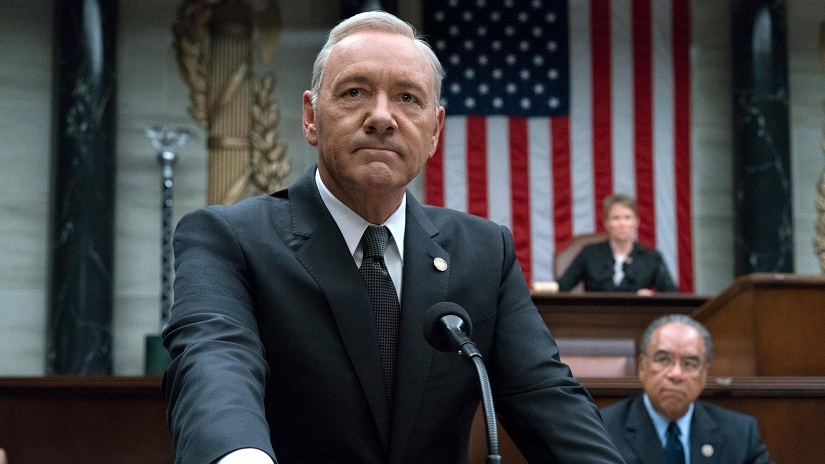 Still from Netflix's House of Cards starring Kevin Spacey. Image courtesy: Facebook