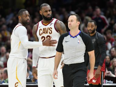 NBA: LeBron James ejected for the 1st time in his career as Cleveland Cavaliers march to victory over Miami Heat
