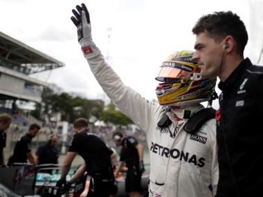 Brazilian Grand Prix: Lewis Hamilton dominates both practice sessions for Mercedes one-two