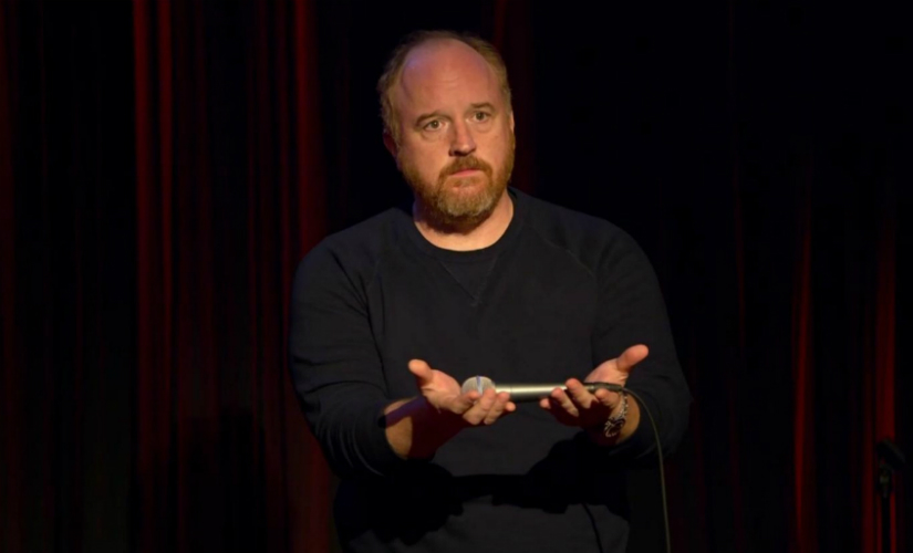 """With his career imploding over allegations of sexual misconduct, comedian Louis C.K. confessed Friday to masturbating in front of women and expressed remorse for wielding his influence """"irresponsibly."""" YouTube"""