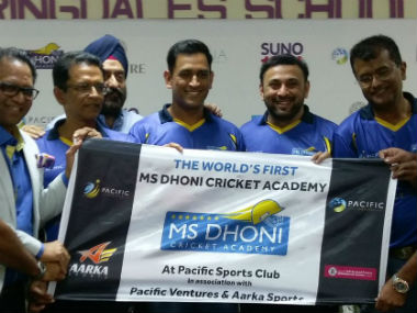 MS Dhoni launches global cricket academy in Dubai; Indian coaches to be employed to train talent