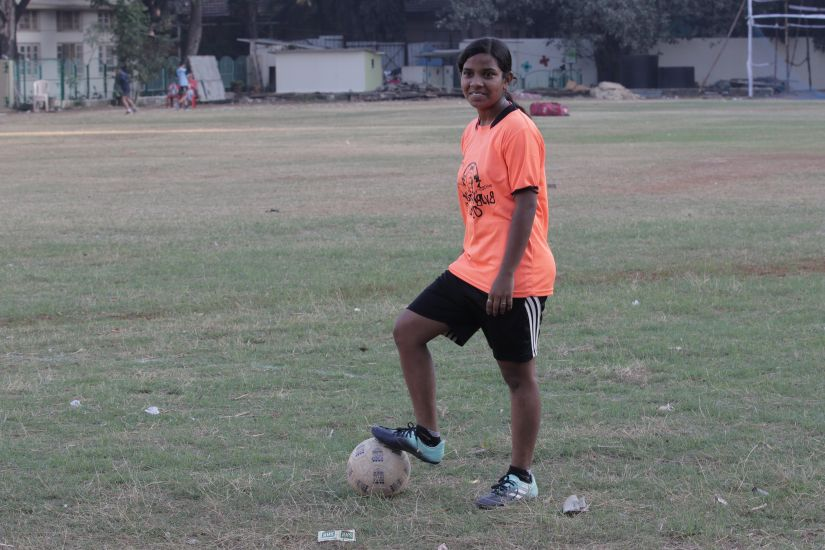 Meet Mary Prakash Naidu the 16yearold footballer from Mumbais streets who met Modi