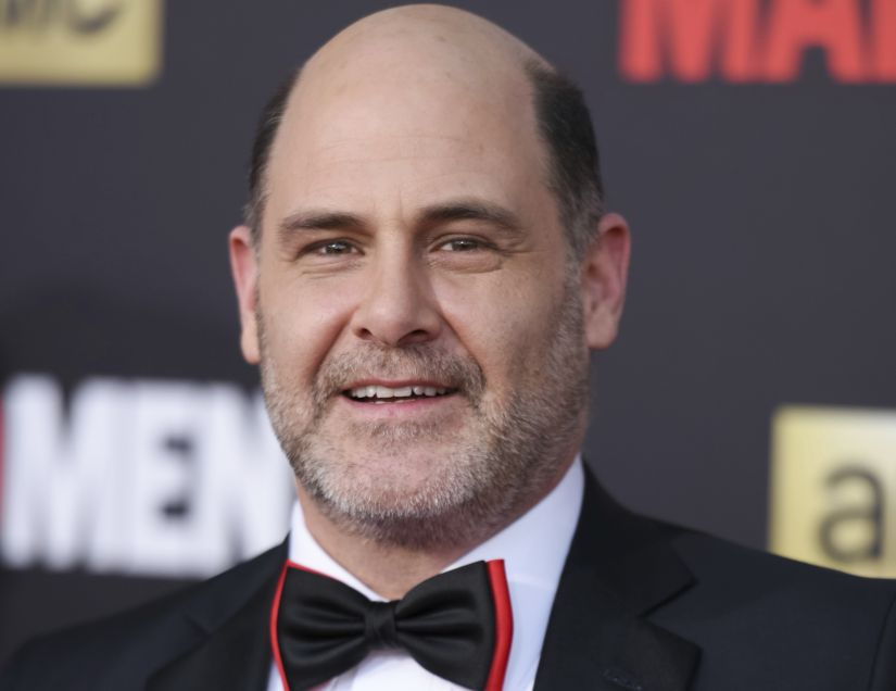 """FILE - In this March 25, 2015 file photo, Matthew Weiner arrives at The Black And Red Ball In Celebration Of The Final Seven Episodes Of """"Mad Men"""" in Los Angeles. A former writer on """"Mad Men"""" tells the website The Information that series creator Weiner harassed her at work. The allegation by Kater Gordon was reported Thursday, Nov. 9, 2017, and denied in a statement released by Weiner's publicist. (Photo by Richard Shotwell/Invision/AP, File)"""