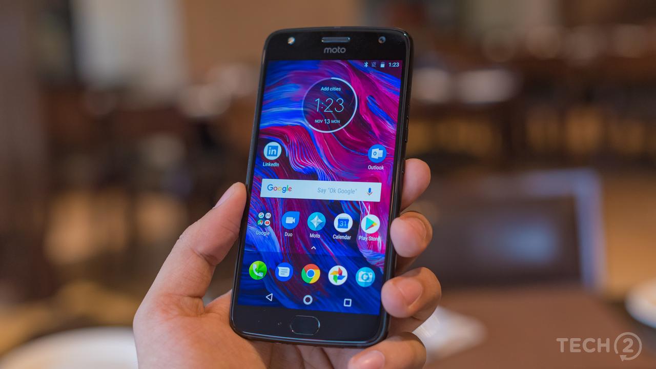 The Motorola Moto X4. Image: tech2/ Rehan Hooda