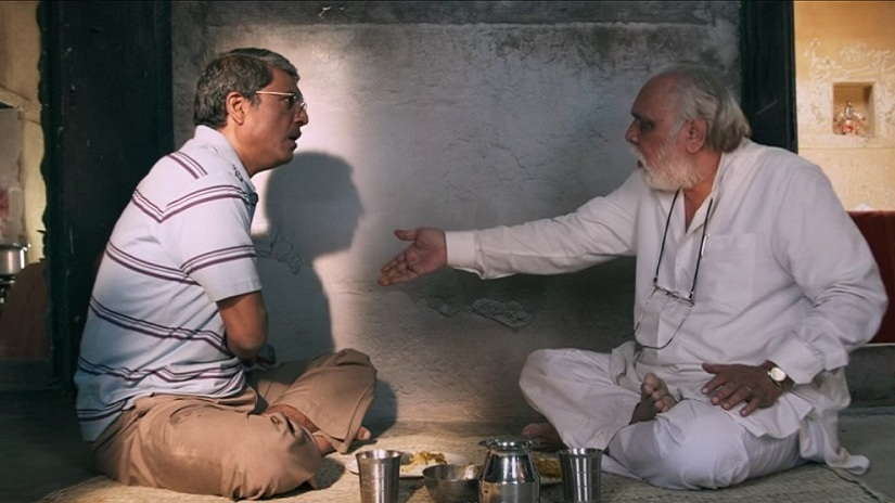 Still from the film Mukti Bhawan. Image via Twitter