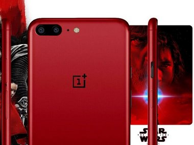 Star Wars themed OnePlus smartphone spotted; expected to be a special edition of OnePlus 5T