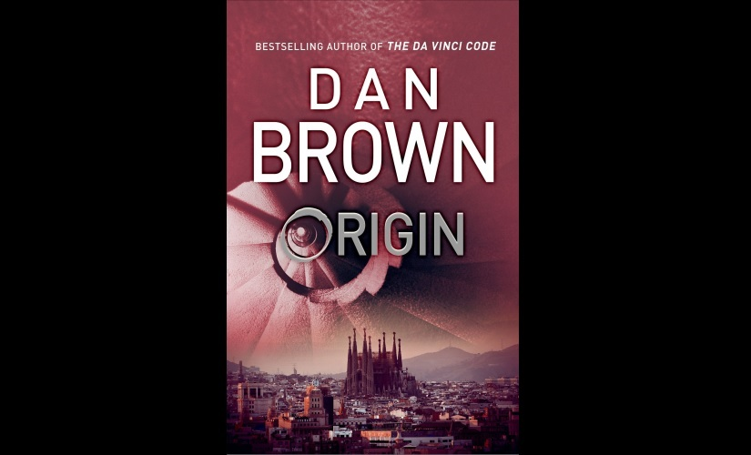 Cover of Dan Brown's Origin. Image courtesy: Twitter/@AuthorDanBrown