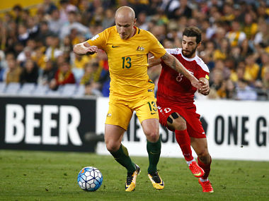FIFA World Cup 2018 qualifiers: Australia's Aaron Mooy says team will look to build on Syria win against Honduras
