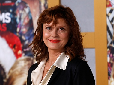 Susan Sarandon talks about role that Hollywood's agents, managers play in sexual harassment
