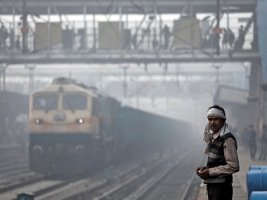 Delhi air pollution 69 trains delayed 22 rescheduled 8 cancelled as temperatures in capital drop below average