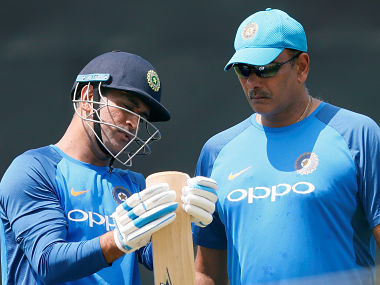 India vs Sri Lanka: India coach Ravi Shastri slams MS Dhoni's critics, says they should look at their own careers first