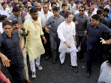 Rahul Gandhi in Gujarat updates: On day 3 of poll campaigning, Congress VP meets Scheduled Caste leaders, NSUI workers