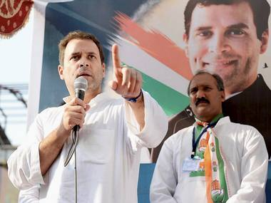 CWC's 'poll process' to elevate Rahul a sham, betrays Congress' desperation to justify feudal mindset
