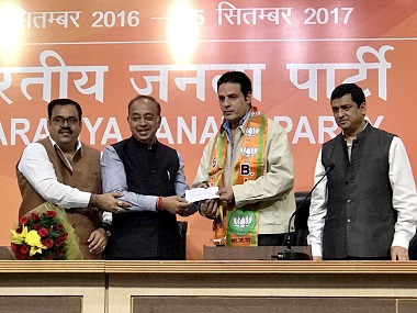 Actor Rahul Roy joins BJP in presence of Vijay Goel, says he wants to contribute to development of country