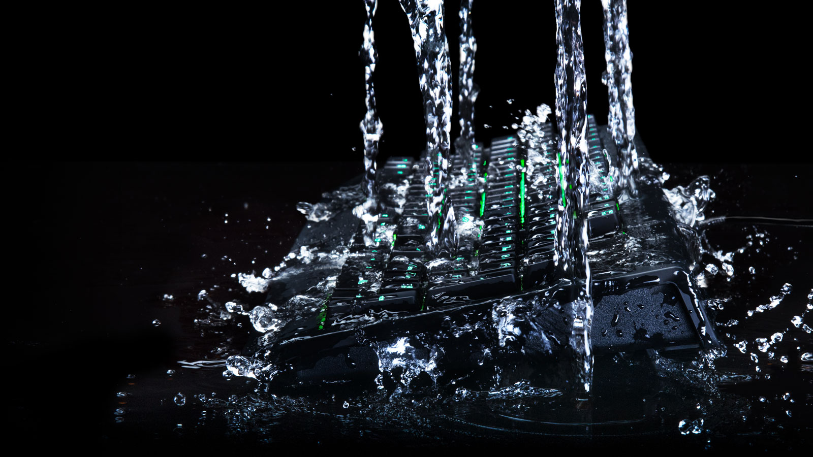 New Razer BlackWidow Ultimate water-resistant keyboard