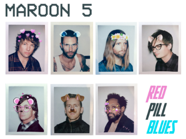 Maroon 5 Red Pill Blues review: Adam Levine and co dish out another homogenised, bland pop record