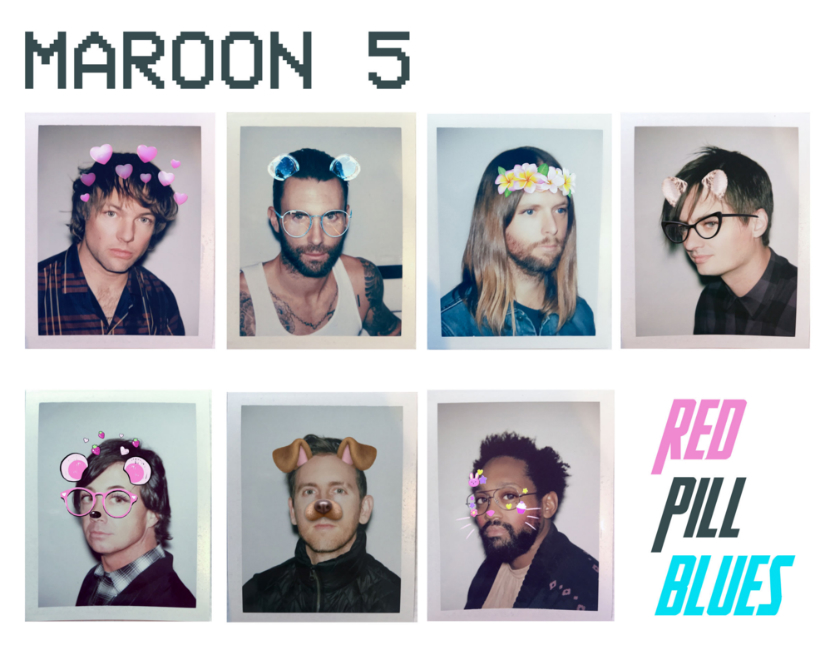 Official album cover. Twitter/@maroon5