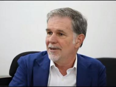 India's 'wild about television and entertainment', makes market more exciting: Netflix CEO Reed Hastings tells CNBC-TV18