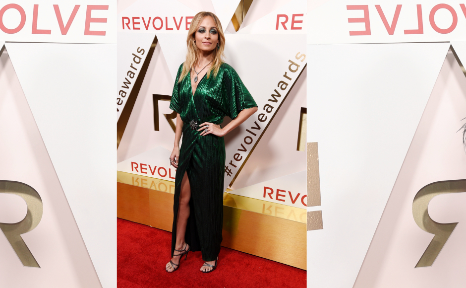 The awards took place on 2 November. Nicole Ritchie made a fiery red carpet appearance as she wowed everyone in a shimmering green dress. Image from Getty Images.