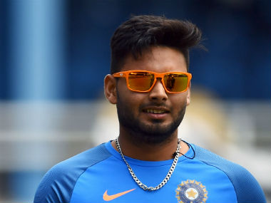 File photo of Rishabh Pant. AFP