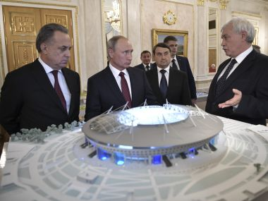 FIFA World Cup 2018: Russia taking strict measures to combat threat of terrorist attacks during tournament