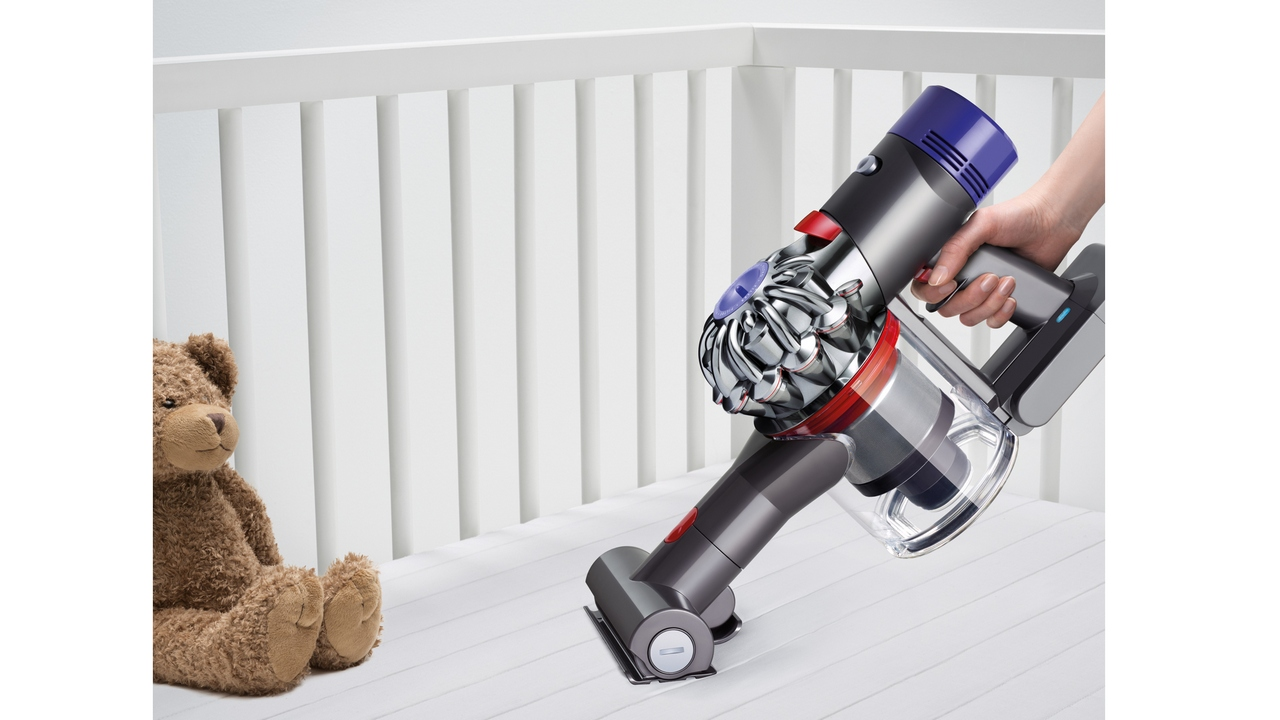 Dyson V8 Cord-free Vacuum cleaner. Image: Dyson