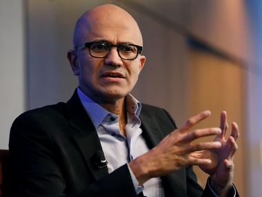 Microsoft CEO Satya Nadella exhorts Indian firms to develop own tech capabilities with focus on inclusivity