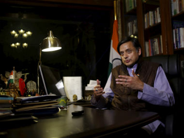 Shashi Tharoor lashes out at Centre, says demonetisation was 'nanny-ism' carried to an extreme