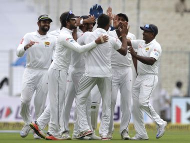 Sri Lankan bowlers have so far enjoyed the bowling-friendly conditions at Eden Gardens. AP