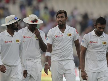 Sri Lanka need to take early wickets against India in Nagpur on Day 2. AP