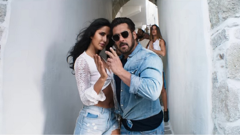 Salman Khan & Katrina share a sizzling chemistry in Swag Se Swagat!