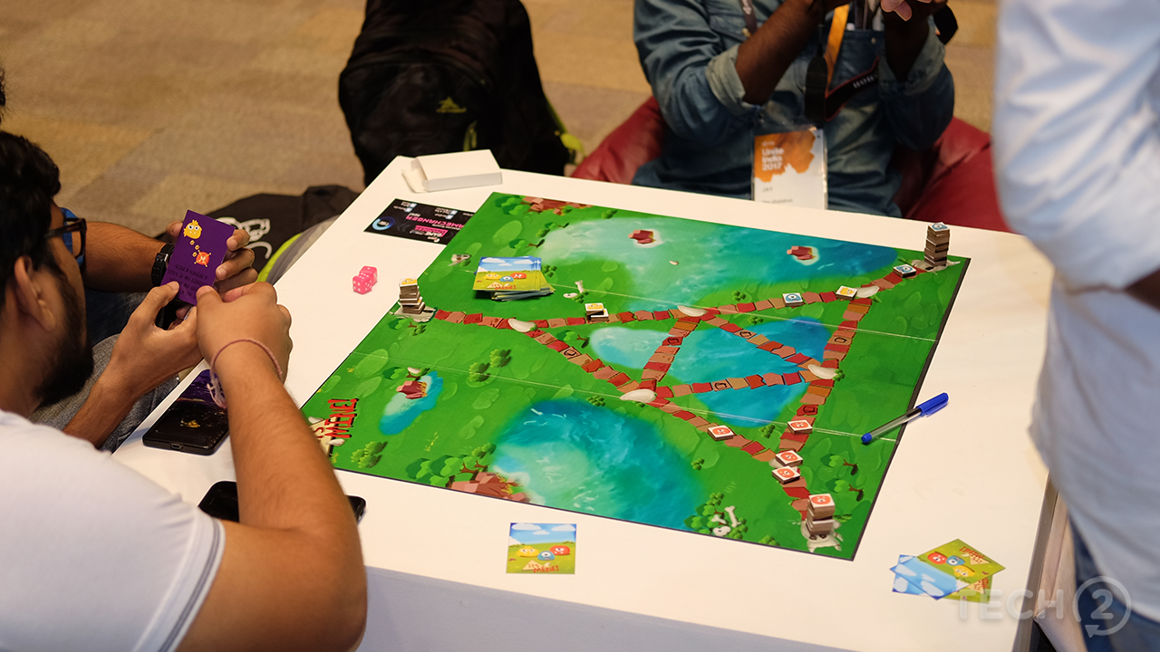 We even got to experience some new board games