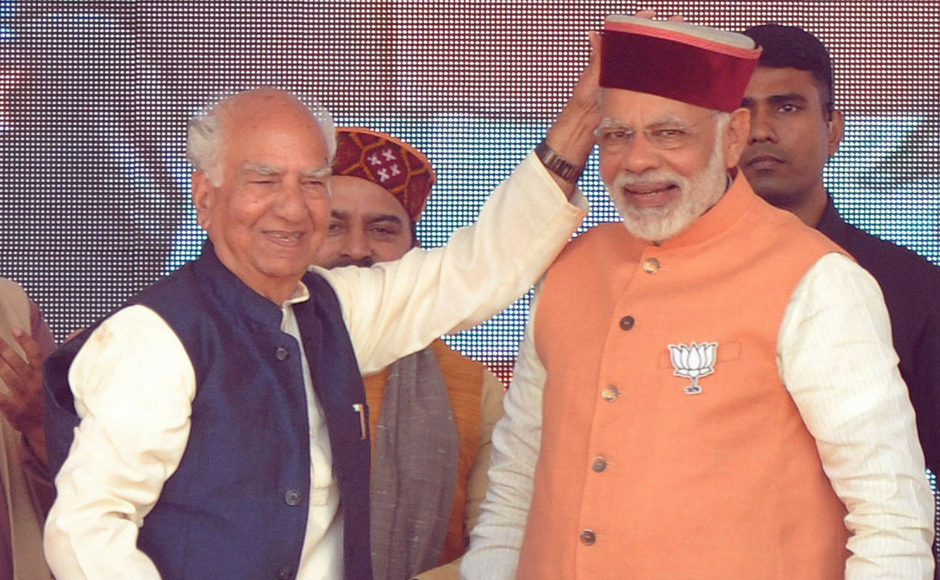 Narendra Modi leads BJP charge in Himachal Pradesh, slams Congress for poor law and order