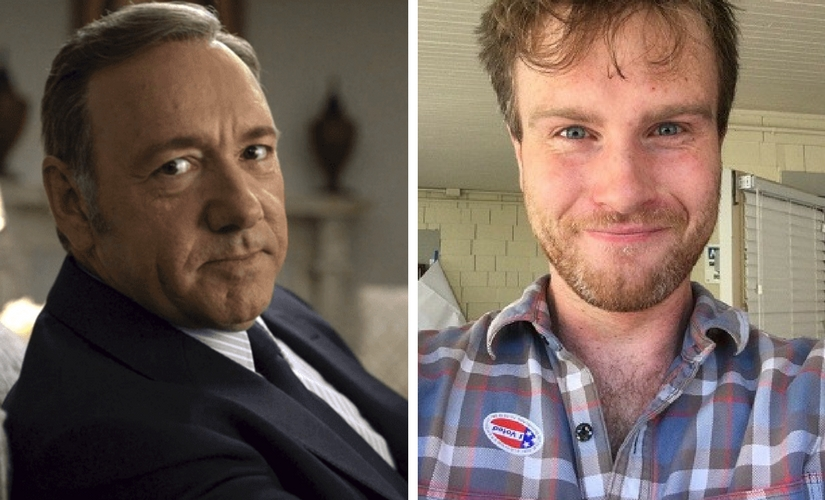 Kevin Spacey and Harry Dreyfuss. Images from Firstpost and Twitter/@harrydreyfuss